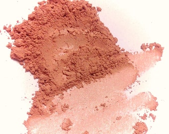 ROSIE CHEEKS Natural Mineral Blush - Pure Cheek Face Color - Vegan Makeup Gluten Free Mineral Makeup
