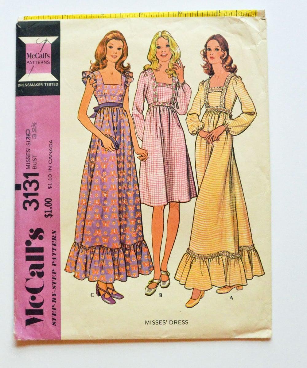 Maxi dress pattern mccalls patterns