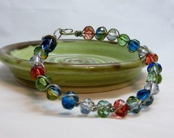 "Gorgeous colors! ""Rio"" Handmade Bracelet"