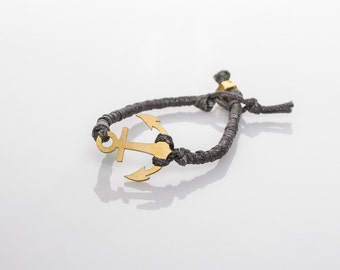 Anchor Bracelet Brass