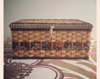 Vintage Sewing Box circa 70's