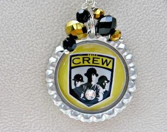 Columbus Crew SoccerNecklace, Columbus Crew Necklace, Columbus Crew Jewelry, Columbus Crew Soccer, Soccer Jewelry, Soccer Necklace, Soccer