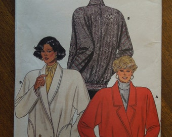 Butterick 4120, sizes 14-18, unlined jacket, misses, womens, UNCUT sewing pattern, craft supplies