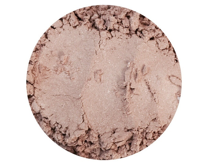 Nude Eye Shadow • NUDE • Loose Powder • Earth Mineral Cosmetics • Planet Wise All Natural Cosmetics • Warm Neutral Tone with Shimmer