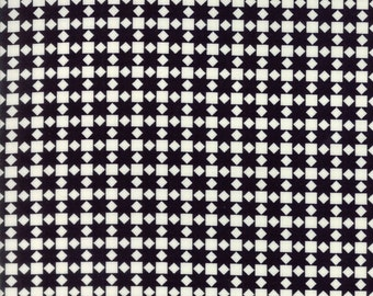 Handmade - Star Quilt Black by Bonnie and Camille for Moda, 1/2 yard, 55142 27