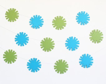 Starburst Party Banner - Customizable Colors