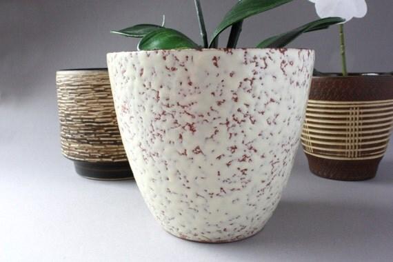 50er 60er blumentopf vintage bertopf keramik keramiktopf for Blumentopf keramik