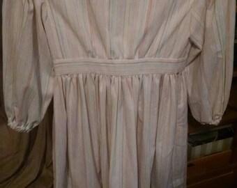 free shipping... Girls civil war Victorian prairie frontier wild west dress. Size 8