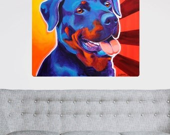 Baloo Rottweiler Dog Wall Decal - #59923