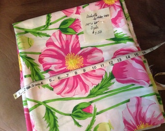 """3 yards of cotton fabric """"Isabella"""" by Valeri Wells"""