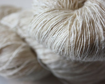 Fine Handspun Mulberry Silk Yarn