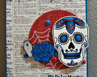 Dia De Los Muertos (Day Of The Dead) ... Greeting Card