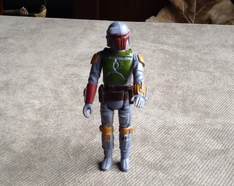 Vintage Original Star Wars Loose Boba Fett Bounty Hunter By Kenner Made In Hong Kong From 1979