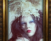 """Headdress """"Snow Queen"""""""