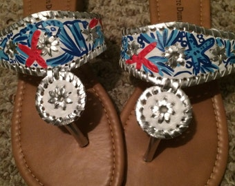 Custom sandal order for kzhantz