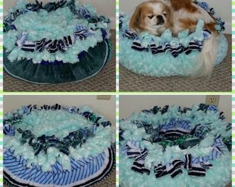 Fluffy Dog Bed Etsy
