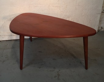 SALE! Vintage Danish Mid Century Modern Teak Coffee Table - Free NYC Delivery!