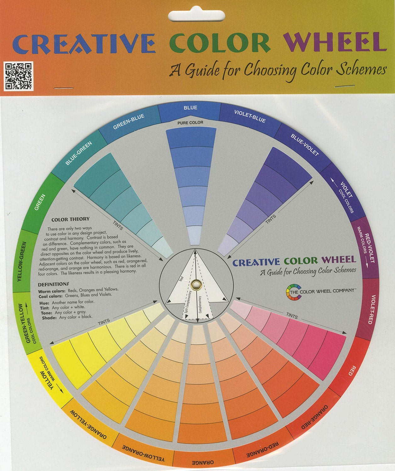 creative color wheel from the color wheel by. Black Bedroom Furniture Sets. Home Design Ideas