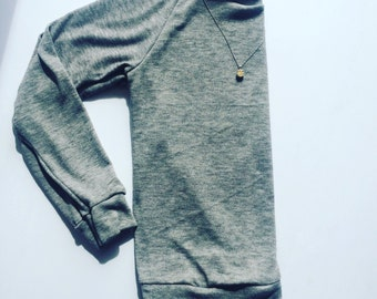 Perfect Pullover, grey sweater, gray sweater, sweater pullover, lounge pullover, sweater, long sleeve pullover, beach pullover