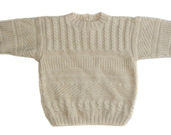 Vintage kids children knitted sweater blouses