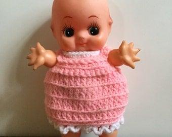 Vintage Rubber Cupie Doll Japan Baby Kewpie