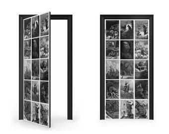 DoorWrap: Aesops Fable Door Wrap