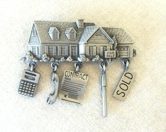 House for Sale SOLD JJ brooch