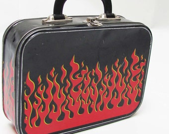 90's Flame Tin lunchbox