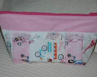 Toiletry bag, cosmetic bag, makeup case