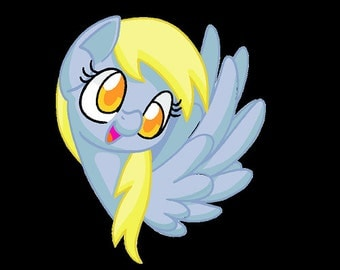 Derpy Ditzy Whooves - MLP Fan Art Pony by Sabri B