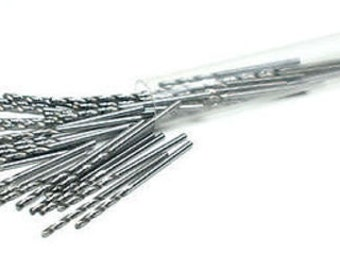 Premium Hss Twist Drills Wire Gauge 1.30 Mm Pkg 100 Pcs Jewelry Metal Rotary Wa 402-054