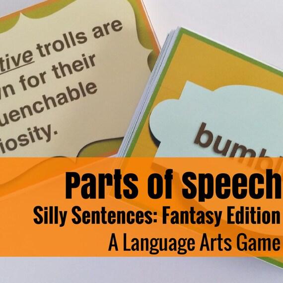 Silly Sentences: Fantasy World  Language Arts Game
