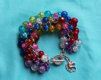 Rainbow Bubble Bracelet