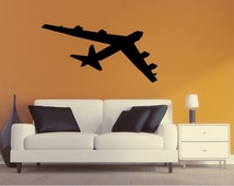 Unique Airplane Silhouette Related Items Etsy