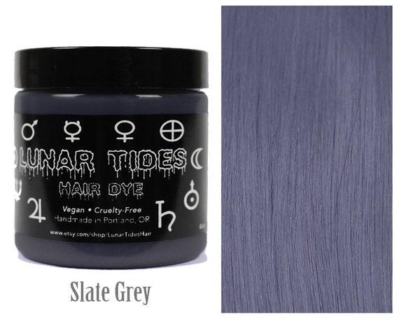 Slate Grey Hair Dye