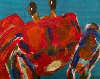 Crab with an Attitude!