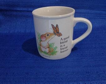 Current, Inc. Vintage Coffee Mug,Good Friend Coffee Cup,80's Coffee Mug Cup