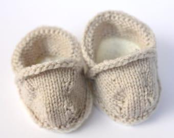 PDF Knitting Pattern Baby TOMS