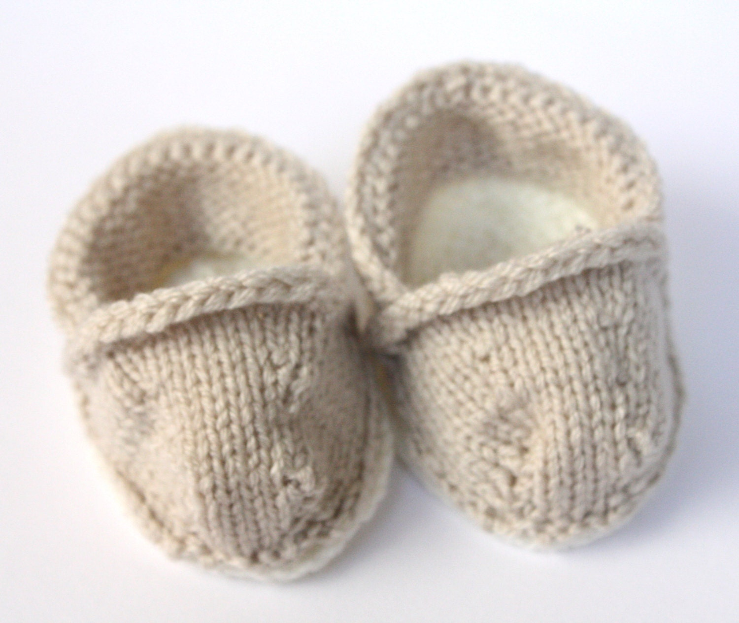 Knitting Baby Shoes : Pdf knitting pattern baby toms