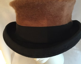 Black and Brown casual hat