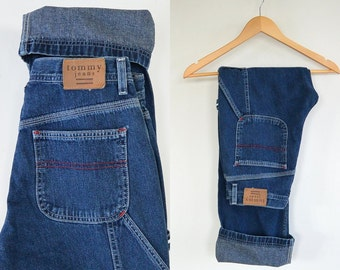 Tommy Hilfiger Carpenter Jeans 90's Size 7 Women's Straight to slight flare Leg Tommy Jeans
