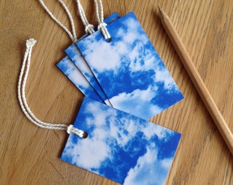 Cloud Rococo Gift Tag Pack