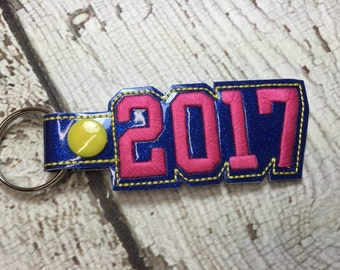 2017 SNAP Key Fob In The Hoop - DIGITAL Embroidery DESIGN