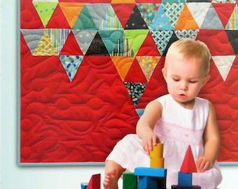 Child's Play Quilt Pattern - Zen Chic - Brigitte Heitland - Moda - CPQP - Barcelona Collection - Charm Pack