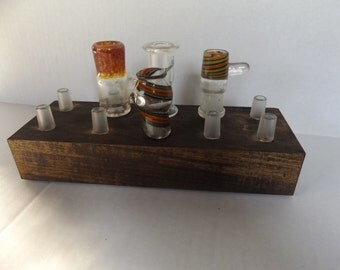 Oil Dome Display Stand 10 Slot