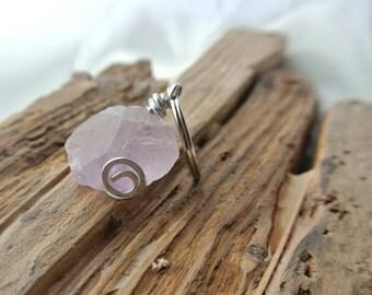 Amethyst key ring