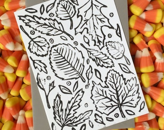 Fall Foliage Card