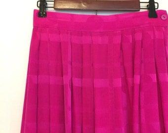 Magenta Vintage Skirt