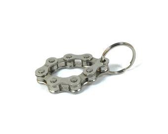 Bicycle Chain Keyring - Loop