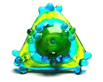GREEN PRISM - RIngTop - Pendant